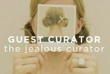 "Guest Curator: The Jealous Curator / A curator who is inspired by amazing art, 'The Jealous Curator' has hand picked inspiring pieces that leave her thinking ""Damn, I wish I thought of that."""