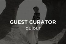 Guest Curator: DuJour Magazine / DuJour magazine is where luxury lives. Launched in 2012, it provides insider access to fashion, design, culture, travel, and parties, all through the lens of celebrities and tastemakers.