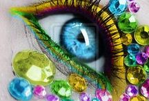 Fantasy Make Up / Makeup tips useful in dance competitions, halloween or special ocassions