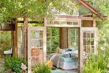 Green Dream Yard / Ideas for the exterior of my home. / by Angelique