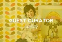 "Guest Curator: Curbly / Capree Kimball is the Deputy Editor and Social Media Manager for Curbly, a design community for people who love where they live and want to bring out the best in their home. With a deep love of Victorian-era ""fancy lads,"" 19th Century anatomy drawings and tin robots, she is bringing her unique and bold aesthetic to her very own UGallery collection."