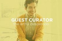Guest Curator: The Artful Desperado / Gabriel Cabrera is the creator of the blog The Artful Desperado, a hot-spot for creativity, lifestyle content, showcasing daily art finds and everything in between.  / by UGallery