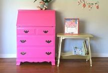 Painted Furniture / inspiration and how-to's for painting furniture