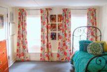 Tween Girl Bedroom Ideas / inspiration for decorating a teen girl bedroom or tween girl bedroom.