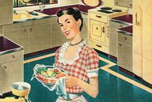 1950s tips/inspiration / Various 1950's pins to try and be inspired by for my blog, home, life etc