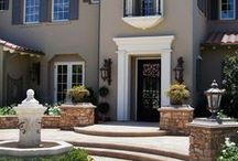 MEDITERRANEAN EXTERIORS / Choosing exterior colors to bring to life our Spanish style home