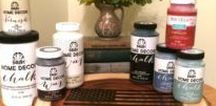 Chalk Paint Ideas / Chalk paint makes projects so EASY!