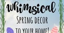 Holiday ideas! / Lovely decorating ideas for the holiday!