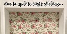 Decoupage Ideas / Mod Podge is one of my favorite things!