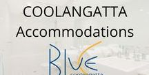 Coolangatta Apartments / Luxurious 1, 2 & 3 bedroom apartments all w/ ocean views. The higher levels have many diverse perspectives, looking toward Surfers Paradise, towards the hinterland, Mt. Warning & north to Coolangatta`s beaches w/ beautiful ocean views. Perfect accommodation for couples, honeymooners, wedding parties, families, & business.  State of the art facilities: heated lagoon style pool spa, gym/sauna & BBQ entertaining area under cover. 5 mins. drive to the Gold Coast International Airport, Australia.
