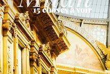 Visiter Milan / Notre voyage de 3 jours à Milan ! Toutes les choses à voir et à faire à Milan pour une belle escapade italienne. #Milan #Milano #Italie #Italy #Italia #travel #voyage #city #europe #visit #traveller #dolcevita #lesescapades