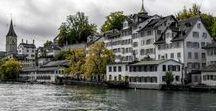 Schweiz / Schweiz mit Alpenbergen und vielen anderen Dingen