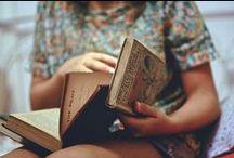 Books. / I love reading.