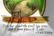 Tolkien / Lord of the Rings and The Hobbit stuff / by Julia Olson