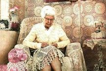 Grannies crochet and cozy up / granny squares are everywhere, and so are cozies! / by Mary Ross