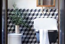 Bathrooms | Banheiros / Inspiring spaces for a beautiful living #bathrooms #banheiros