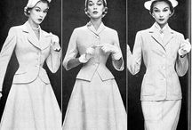 1950s Ladies Suits, Ensembles, Jackets, and Coats / Classic, elegant, and stylish women's suits, ensembles, jackets and coats from the New Look (1947) through the 1950s.  / by Retro Seamstress