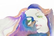 Watercolors / by Laura Flagg