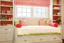 Kid's Room / Great ideas for kid spaces