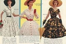 1950s Dresses / Dresses from the beginning of the New Look (1947) through the 1950s. / by Retro Seamstress