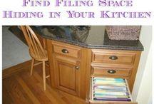 Organizing Kitchen and Pantry / Organizing Kitchen and Pantry