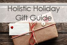 Holistic Holiday Gift Guide / The holidays are a time to focus on giving, spreading joy & cheer, and being with loved ones. Whether you celebrate Christmas, Hanukkah, or anything in between, get into the spirit of gift giving with these holistic present ideas! We've chosen gifts for the yogis, cooks, vegetarians, essential oils lovers, and anyone in your life that chooses to lead a healthy, holistic lifestyle. Enjoy and happy holidays!