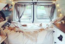 Van reisen / Van, Auto, VW-Bus, reisen mal anders