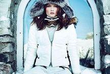 Зима, горнолыжка