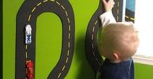 Cute Boys bedroom themes / Cute ideas and themes for decorating your little boys bedroom