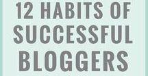 Blogging & Social Media Tips / Blogging advice, tricks, hacks and guides. Pinterest, twitter, facebook and instagram