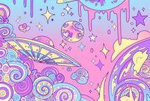 """fantasy world / """"Ainda creio que existe um mundo de fantasia""""                                                                           Laura Couto"""