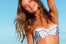 Beachin' it / Bikinis, bathing suits, cover ups, and sunglasses to keep it cool at the beach or pool