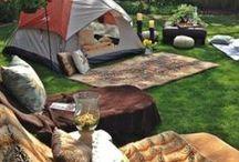 camping. / by Mindi B