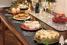 Set the table / Beautiful tablescapes and tabletop decor for the dining room
