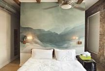 Bedrooms that are not for toddlers (at least not at the beginning of the night!) / by Mindi B