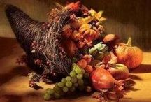 Thanksgiving/ Fall / All things Fall and Thanksgiving. Food, decorations, everything! / by Melissa Johnson