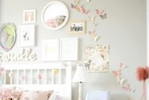 Little Girl Rooms and Nurseries / Bright and cheery bedrooms for girls and babies