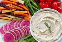 Deliciousness: Appetizers / Appetizers, spreads, and snacks to enjoy with a group or at a party!