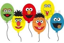 x 2nd Birthday - Sesame Street