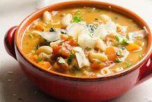 Deliciousness: Soups, Stews, and Chili / Recipes for soups, stews, and chilis to keep you warm!
