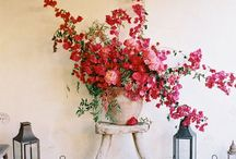 flower arrangements / lovely to look at