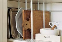 DIY For Organization / DIY projects to better organize your apartment or small space