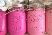 Mason Jars! / i'm mildly obsessed with all things mason!