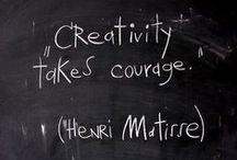 Creativity / Inspiration to create.