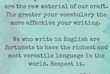 Writing:  Words