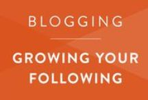 Blogging • Grow a Following / Grow your blog's readership and keep your subscribers engaged and interested.