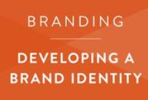 Branding • Identity Design / Tips and guides to create a brand identity that is completely you.