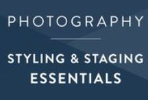Photography • Style & Stage / The art of styling and staging photos.