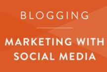 Blogging • Social Media / How to use social media to boost blog posts and grow a following.