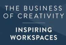 Creative Biz • Workspaces / Beautiful home offices, desks, and workspaces that inspire.